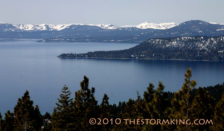 Nugget #181 Tahoe View from Diamond Peak