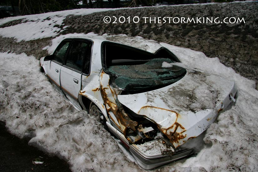 Nugget #183 Crushed Car Snowmelt