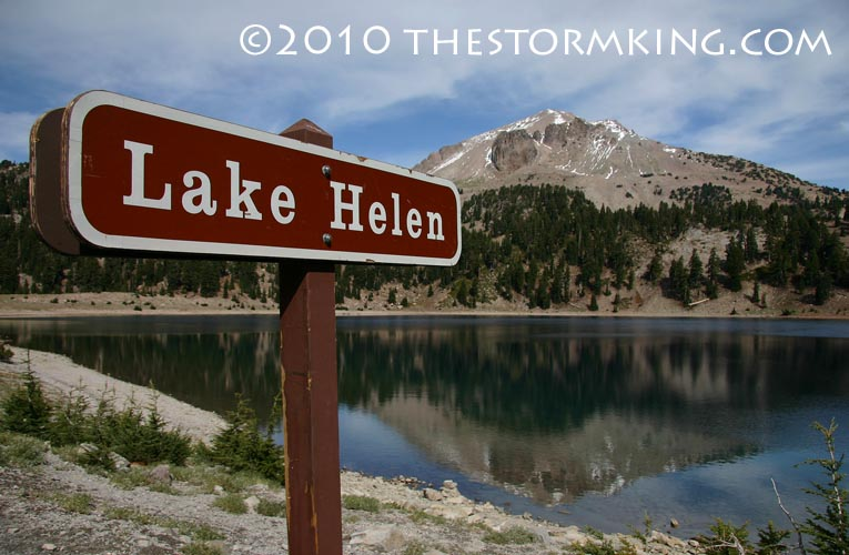 4 Nugget #192 Lake Helen Sign Reflection