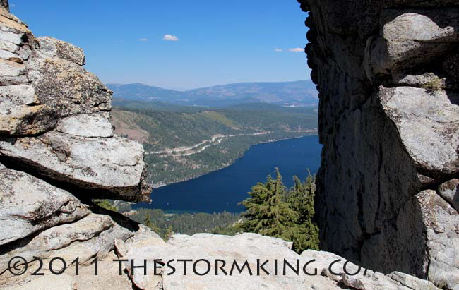 Nugget #215 Donner Lake from  Summit